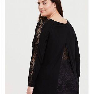 Torrid Lace Sweater